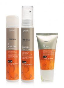 Combo chăm sóc và bảo vệ tóc Lakme Teknia Suncare khi đi du lịch