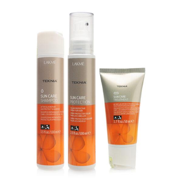 Combo chống nắng, bảo vệ tóc Lakme Teknia Sun Care