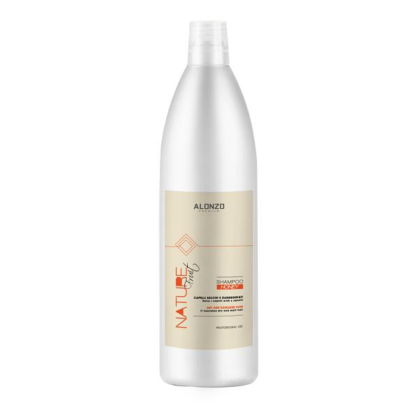 Dầu gội phục hồi Alonzo Nature với tinh chất mật ong dành cho tóc khô & hư tổn 1000ml