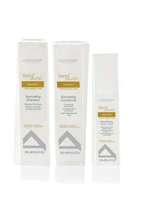 Combo dầu gội, dầu xả và kem dưỡng 10 tác dụng Diamond giúp tóc bóng mượt