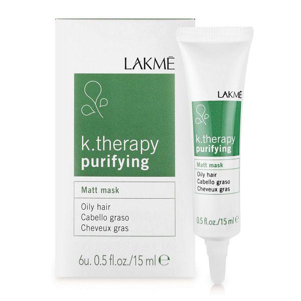 Mặt nạ Lakme K.Therapy trị dầu trước khi gội 6 x 15ml