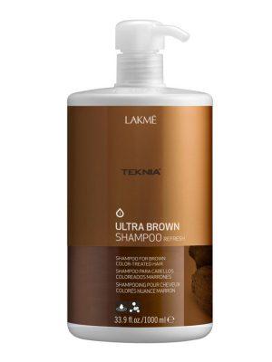 Dầu gội Teknia dưỡng màu cho tóc nhuộm màu nâu 1000ml