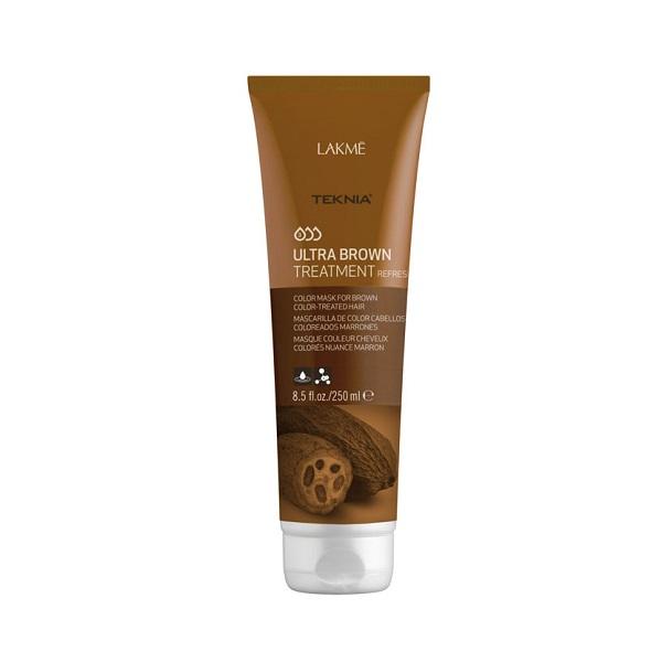 Kem hấp Teknia dưỡng màu cho tóc nhuộm màu nâu 250ml