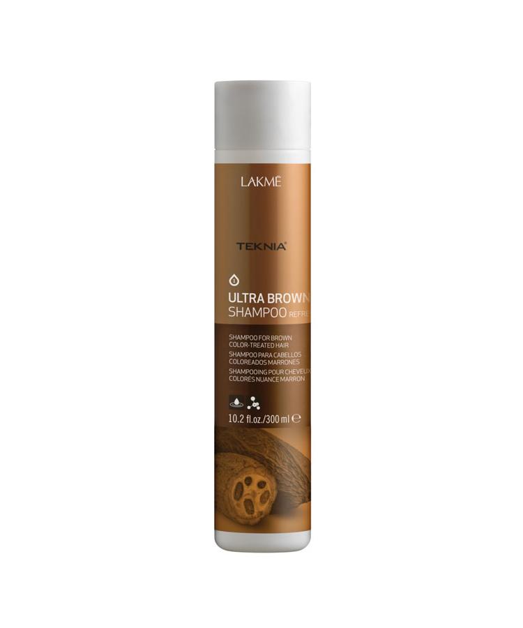 Dầu gội Teknia dưỡng màu cho tóc nhuộm màu nâu 300ml