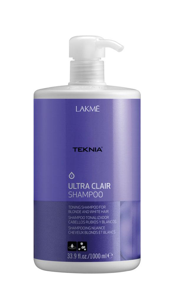 Dầu gội giữ bóng cho tóc rất sáng hoặc bạc Lakme Teknia 1000ml