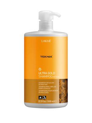 Dầu gội Teknia dưỡng màu cho tóc nhuộm màu vàng 1000ml