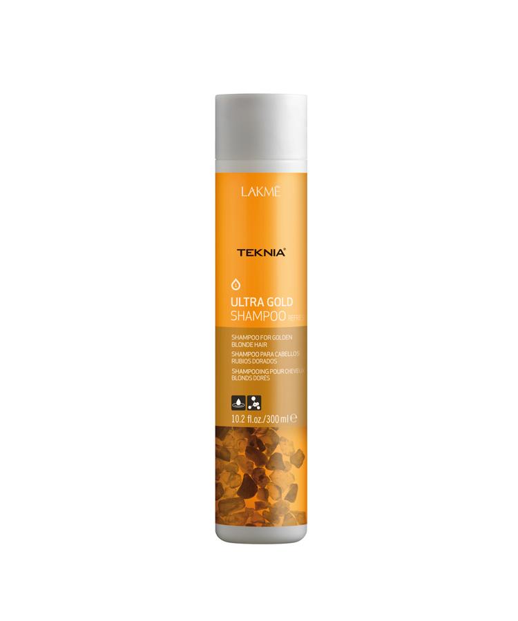 Dầu gội Teknia dưỡng màu cho tóc nhuộm màu vàng 300ml