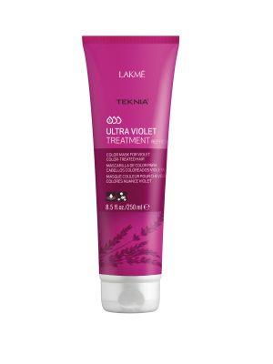 Kem hấp Teknia dưỡng màu cho tóc nhuộm màu tím 250ml