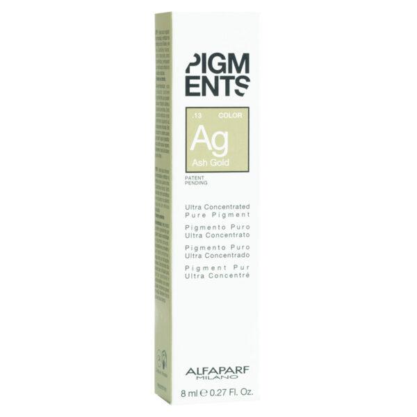Hạt màu Pigments dưỡng màu cho tóc nhuộm vàng khói 8ml