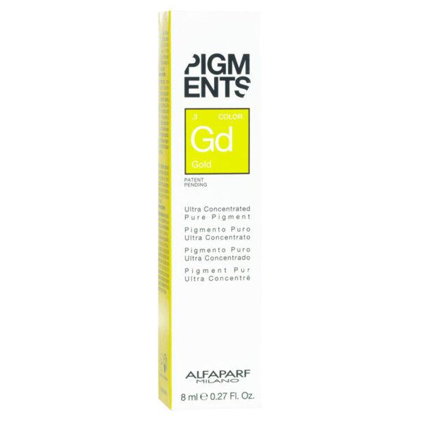 Hạt màu Pigments dưỡng màu tóc nhuộm vàng 8ml
