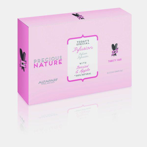 Tinh chất dưỡng ẩm cho tóc khô và xỉn Precious Nature 6x13ml