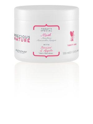 Mặt nạ dưỡng ẩm cho tóc khô và xỉn Precious Nature 500ml